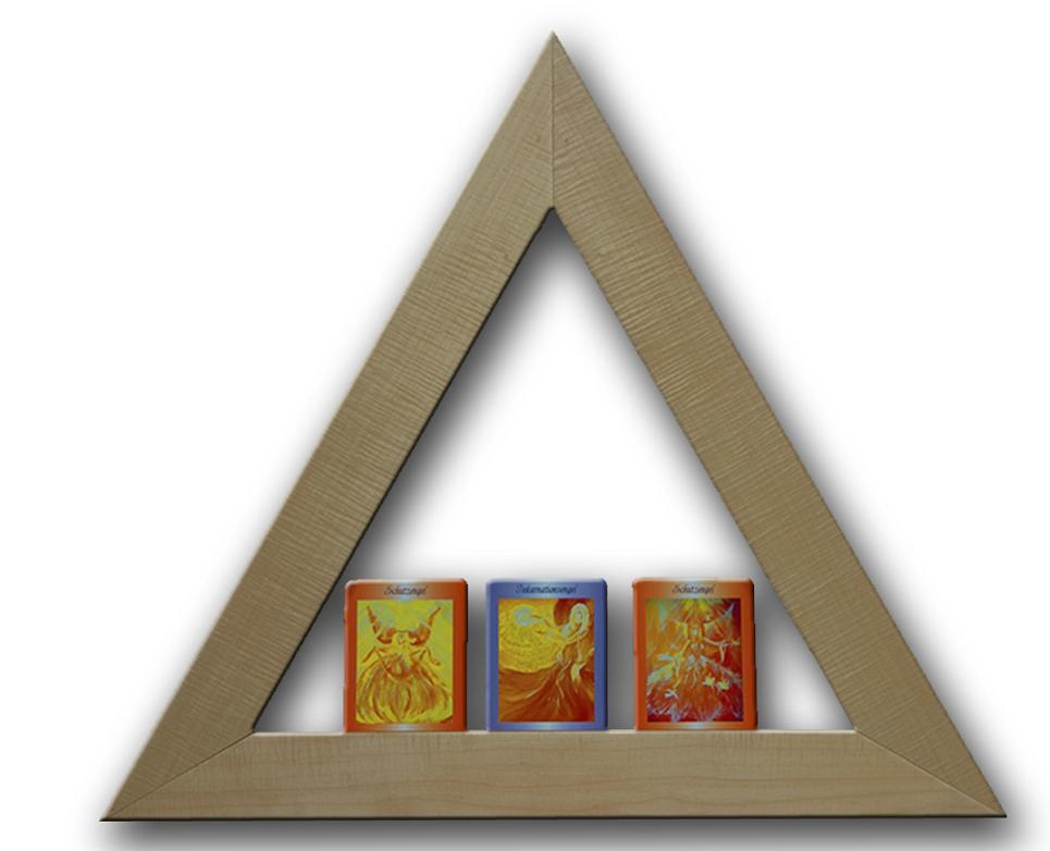 Anwendung der Dreiecke - Hyperraum-Q-Matrix Shop - Gebetsdreiecke